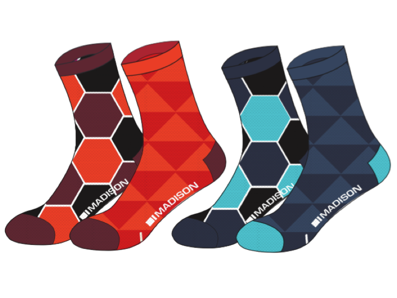 Madison Sportive High Socks (Twin Pack) (Women's)